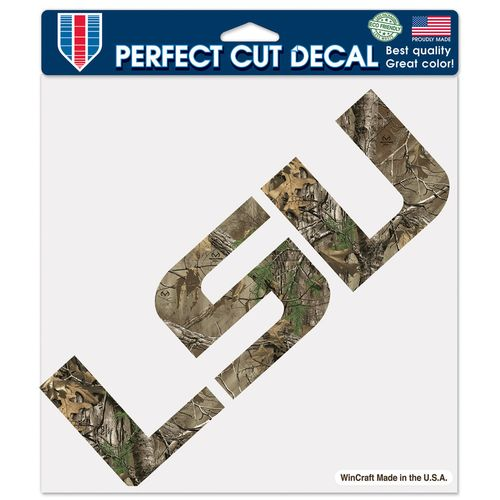 WinCraft Louisiana State University Perfect Cut Camo Decal