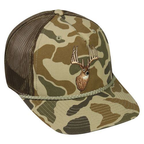 Outdoor Cap Men's Camo Deer Ball Cap