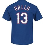 Majestic Men's Texas Rangers Joey Gallo #13 T-shirt