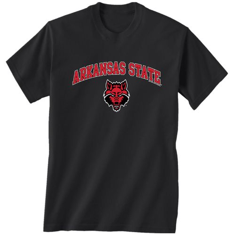 New World Graphics Men's Arkansas State University Arch
