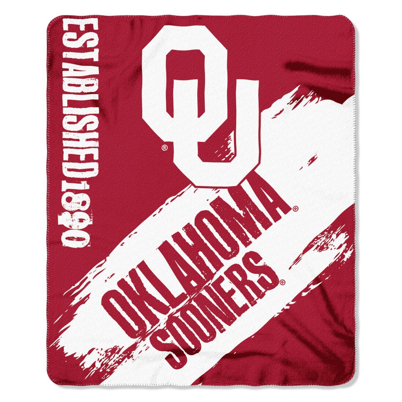 The Northwest Company University of Oklahoma Painted Fleece Throw free shipping
