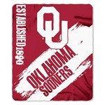 The Northwest Company University of Oklahoma Painted Fleece Throw - view number 1