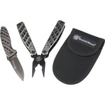 Smith & Wesson Clip Folder Knife and Multi-tool Set