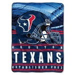 The Northwest Company Houston Texans Stacked Silk Touch Throw - view number 1