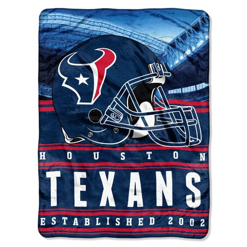 The Northwest Company Houston Texans Stacked Silk Touch Throw