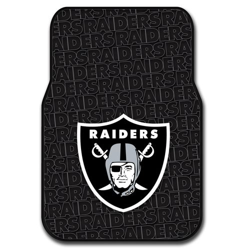 The Northwest Company Oakland Raiders Front Car Floor Mats 2-Pack