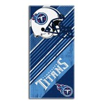 The Northwest Company Tennessee Titans Diagonal Beach Towel