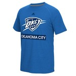 adidas Men's Oklahoma City Thunder climalite® Tip Off Loud and Proud Ultimate T-shirt