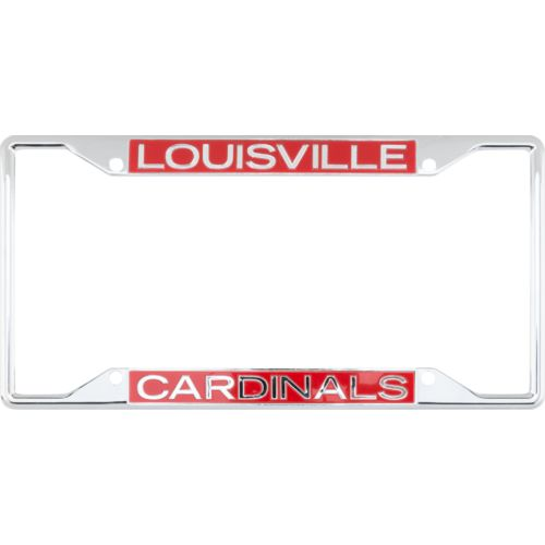 Stockdale University of Louisville Mirror License Plate Frame