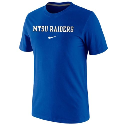 Nike™ Men's Middle Tennessee State University Cotton Short Sleeve T-shirt - view number 1