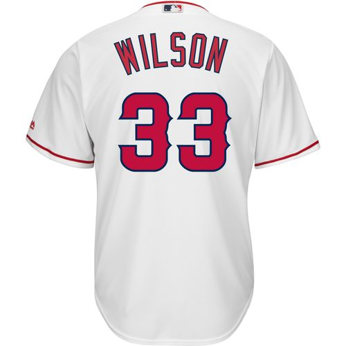 Majestic Men's Los Angeles Angels C.J. Wilson #33 Cool Base® Home Jersey