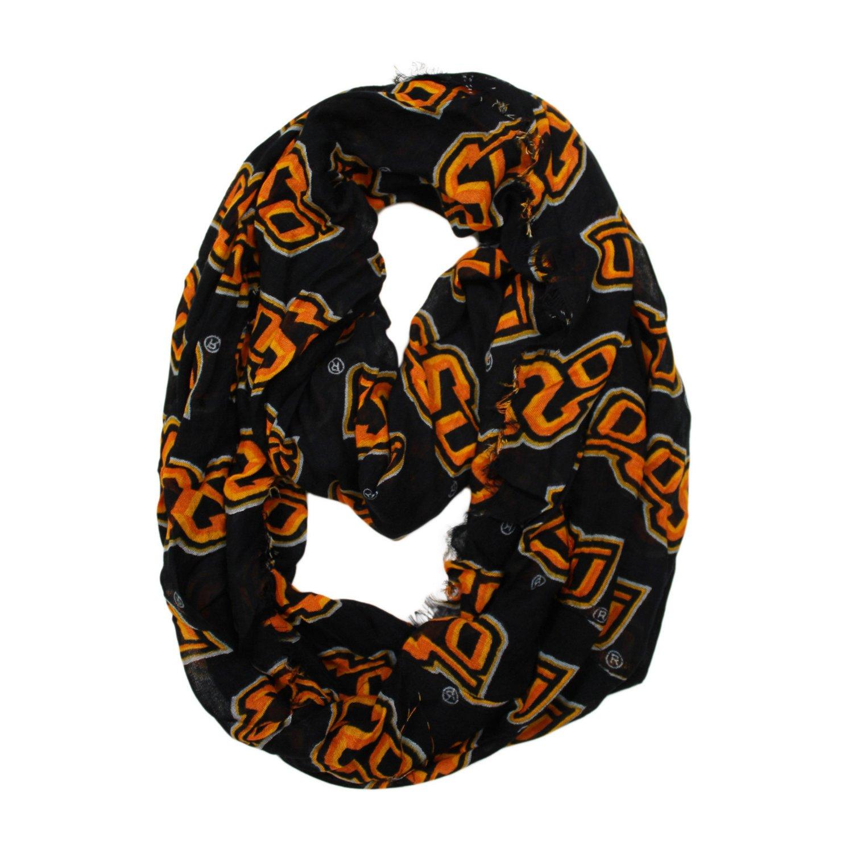 ZooZatz Women's Oklahoma State University Logo Infinity Scarf