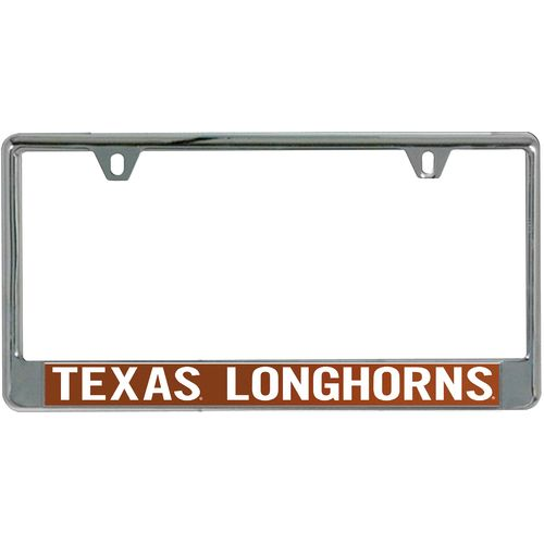 Stockdale University of Texas Mirror License Plate Frame