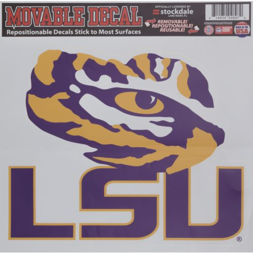 Stockdale Louisiana State University Single Logo Decal
