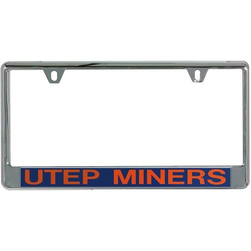 Stockdale University of Texas at El Paso Mirror License Plate Frame - view number 1