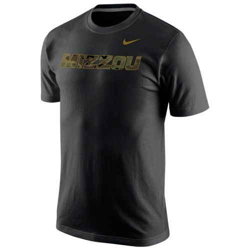 Nike™ Men's University of Missouri Camo Hook Short Sleeve T-shirt