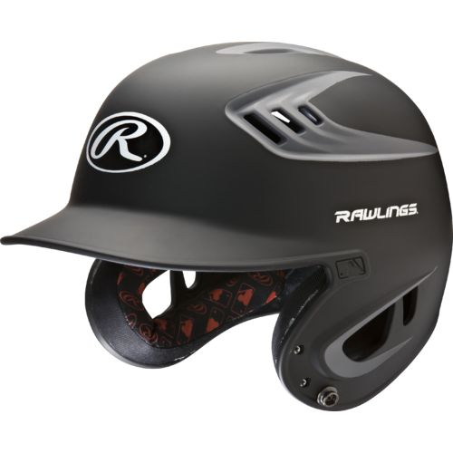 Rawlings Adults' R16 2-Tone Matte Batting Helmet - view number 1