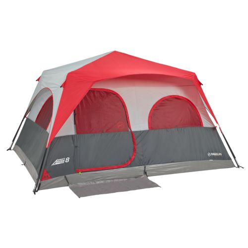Display product reviews for Magellan Outdoors SwiftRise Instant 8 Person Cabin Tent