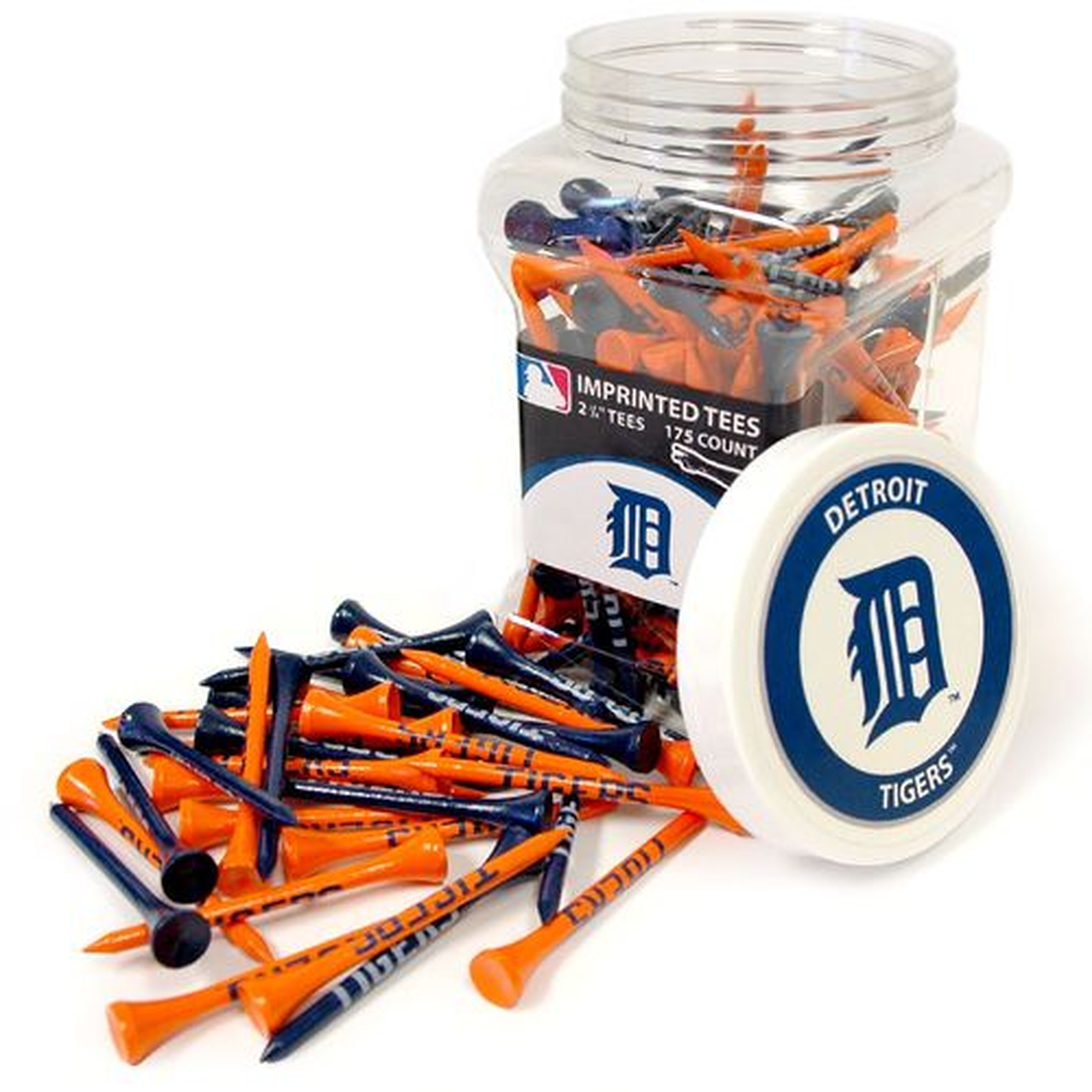 Team Golf Detroit Tigers Tees 175-Pack