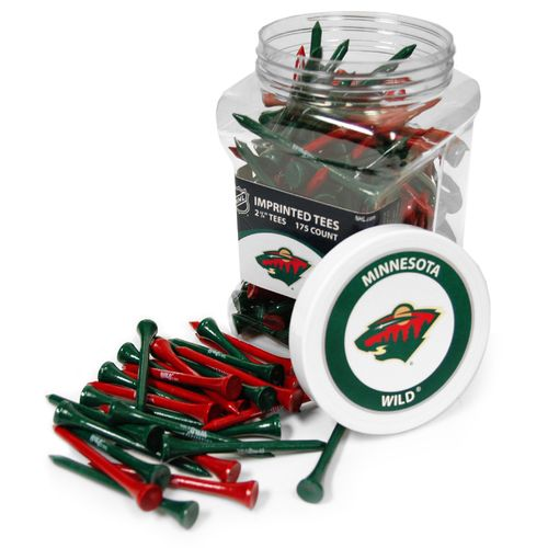 Team Golf Minnesota Wild Tees 175-Pack