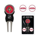 Team Golf Florida Panthers Divot Tool and Ball Marker Set - view number 1
