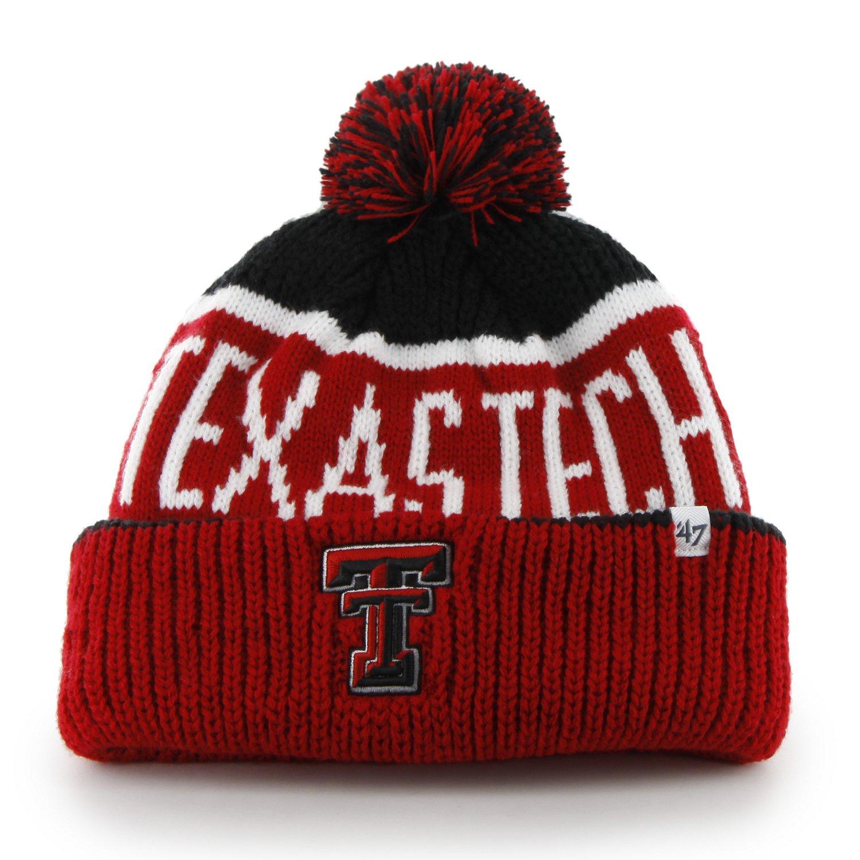 '47 Adults' Texas Tech University Calgary Knit Cap