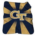 Logo™ Georgia Tech Raschel Throw