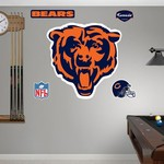 Fathead Chicago Bears Real Big Team Logo Decal