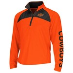 Colosseum Athletics Girls' Oklahoma State University Flyer 1/4 Zip Jacket