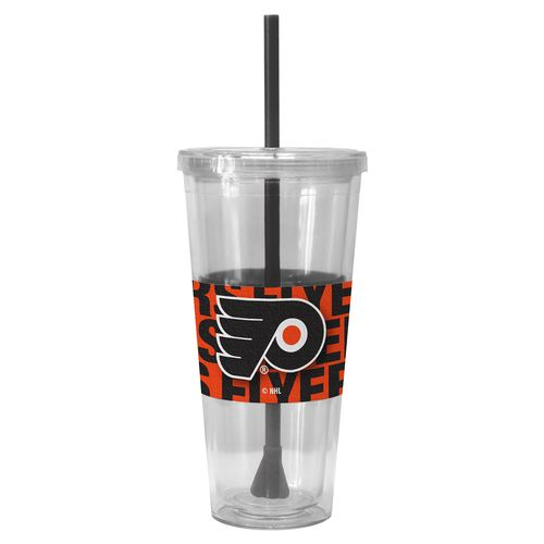 Boelter Brands Philadelphia Flyers 22 oz. Straw Tumblers 2-Pack