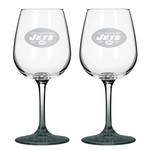 Boelter Brands New York Jets 12 oz. Wine Glasses 2-Pack