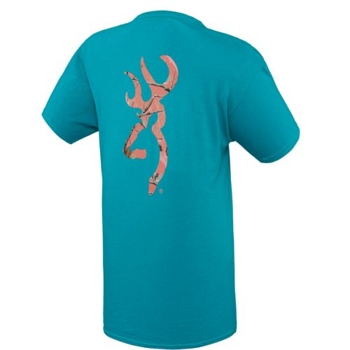 Browning Women's Sugar Coral Buckmark T-shirt