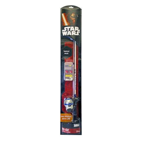 Zebco Star Wars™ R2-D2 5'6' M Freshwater Spincast Rod and Reel Combo
