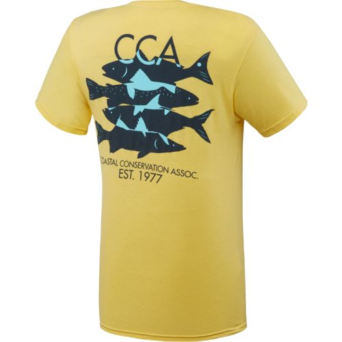 CCA Men's Multifish Pocket T-shirt