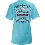 Three Squared Juniors' University of Arkansas Flora T-shirt