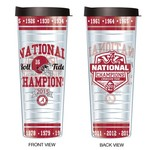 Signature Tumblers University of Alabama Multi Champion H2OMG! 30 oz. Insulated Tumbler