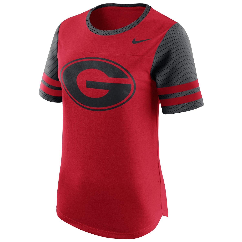 Nike Women's University of Georgia Modern Fan Top