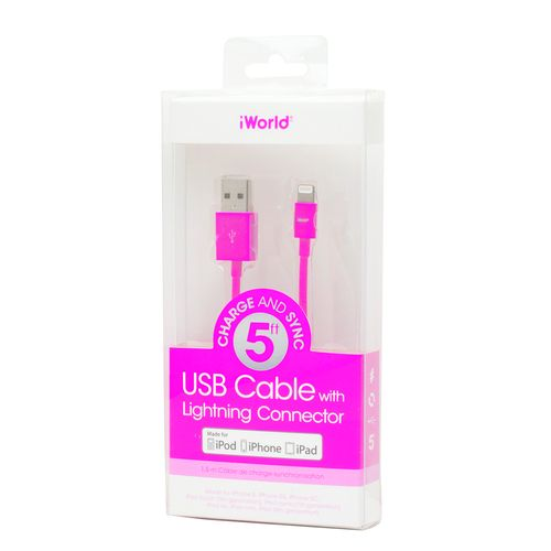 iWorld™ USB Cable with Lightning™ Connector