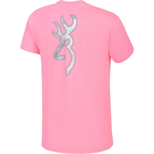 Browning Women's Studded Buckmark T-shirt