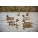 Game Winner® Carver's Edge Series Green Wing Teal Decoys 6-Pack - view number 3