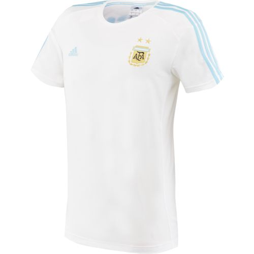 adidas™ Men's Argentina Messi 3-Stripes T-shirt