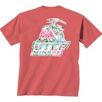 New World Graphics Women's University of Texas at El Paso Floral T-shirt