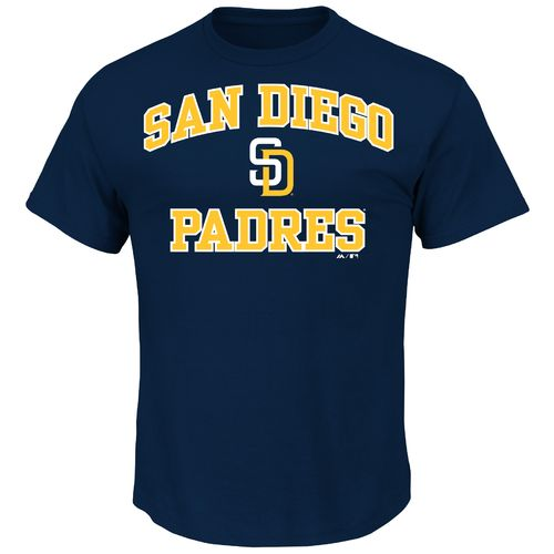 Majestic Men's San Diego Padres Heart and Soul T-shirt