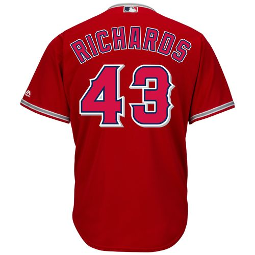 Majestic Men's Los Angeles Angels of Anaheim Garrett Richards #43 Cool Base Replica Jersey
