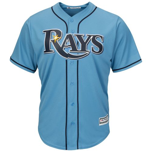 Majestic Men's Tampa Bay Rays Cool Base Replica Jersey