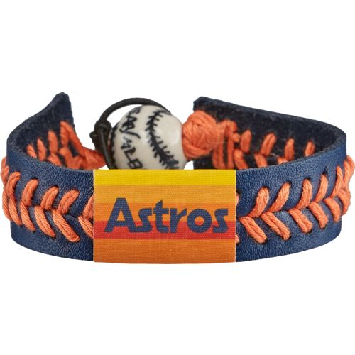 GameWear Men's Houston Astros Retro 80s Wordmark Baseball