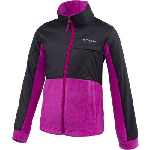Columbia Sportswear Girls' Benton Springs™ III Overlay Fleece
