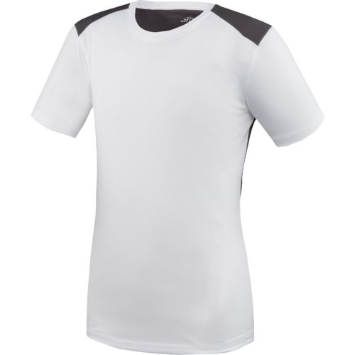 BCG Boys' Mesh Back Short Sleeve Crew T-shirt