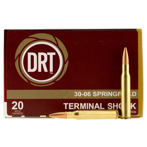 DRT™ Boat Tail Hollow Point Centerfire Rifle Ammunition