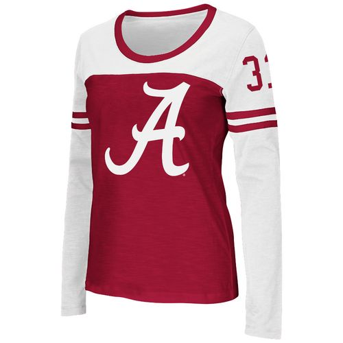Colosseum Athletics™ Women's University of Alabama Hornet Football Long Sleeve T-shirt